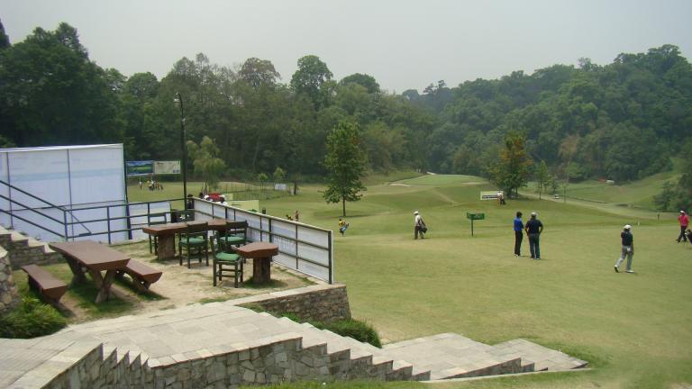 Gokarna Golf Club image camp site