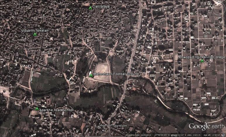 Maheshwori Football Ground
